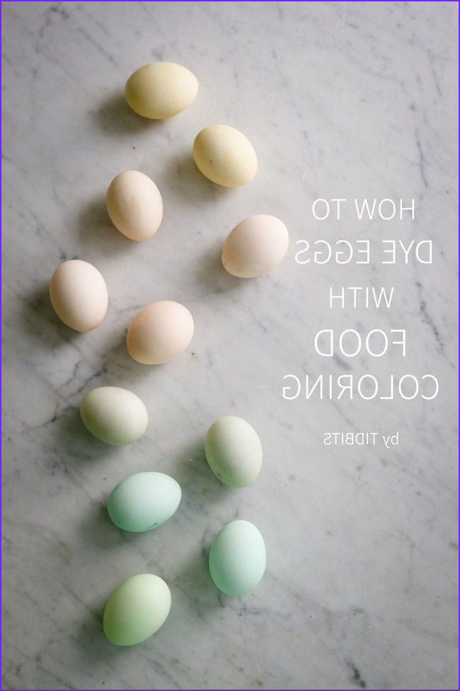 Dye Eggs with Food Coloring Inspirational Photos How to Dye Eggs with Food Coloring