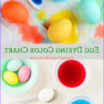 Easter Egg Dye Food Coloring Chart Luxury Collection How To Dye Easter Eggs In Beautiful Vivid Colors