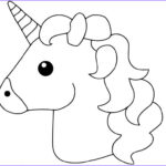 Emoji Coloring Sheet Beautiful Collection 41 Magical Unicorn Coloring Pages
