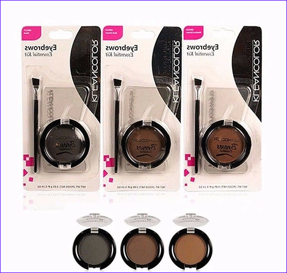 Eyebrow Coloring Kit Best Of Images Kleancolor Eyebrow Kit 3 Eyebrows Stencils 1 Eyebrow