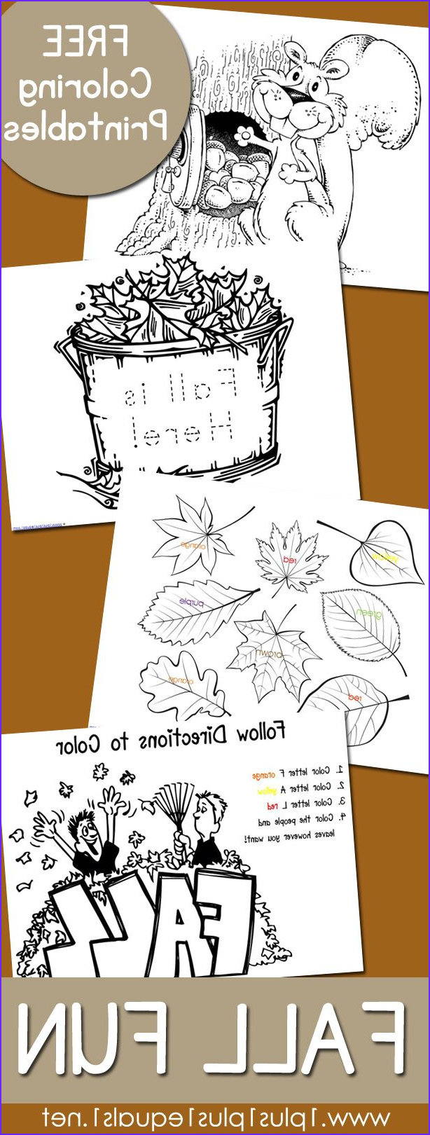 Fall Coloring Pages For Kindergarten Beautiful Image Fall Fun Just Color Colouring For Adults
