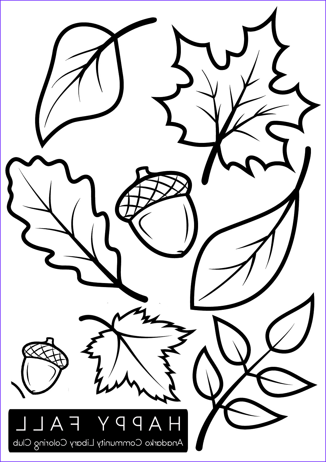 Fall Coloring Pictures Beautiful Collection Coloring Club – Anadarko Munity Library