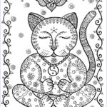 Fantasy Coloring Books Beautiful Collection Fantasy Cats Instant Download 5 Coloring Pages You Color And