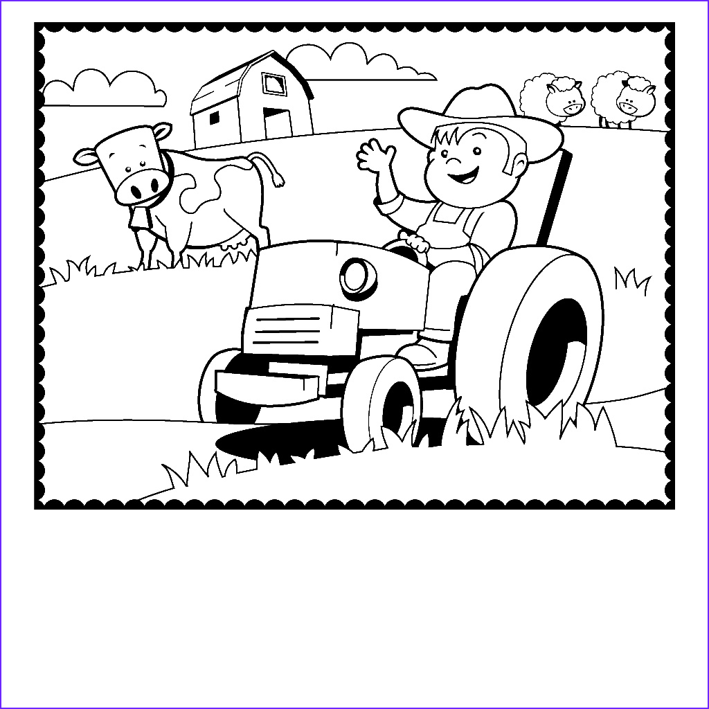 Farm Coloring Book Awesome Photos Diy Farm Crafts and Activities with 33 Farm Coloring