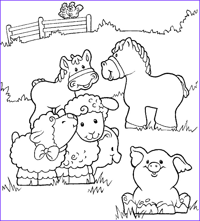 Farm Coloring Book Luxury Collection Diy Farm Crafts and Activities with 33 Farm Coloring