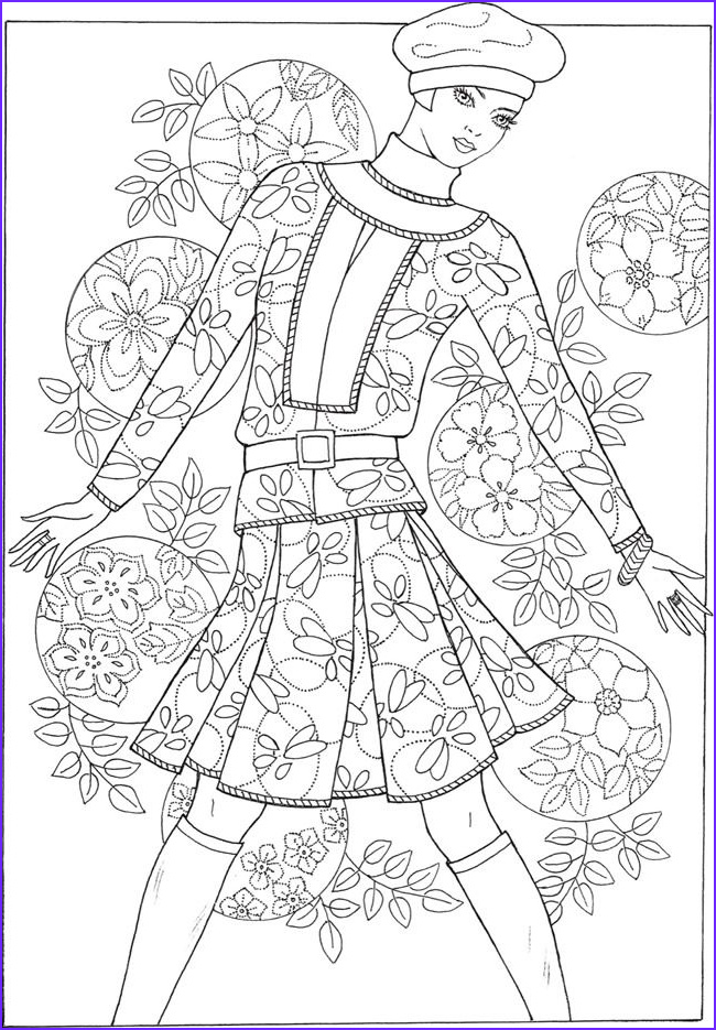 Fashion Coloring Book Unique Photos 307 Best Fashion Coloring Pages for Adults Images On