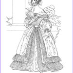 Fashions Coloring Book New Collection Victorian Fashions Coloring Book Dover Fashion Coloring