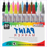 Fine Point Markers For Coloring Awesome Collection U S Art Supply 18 Color Set Of Extra Fine Point Tip Oil