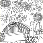 Fire Works Coloring Pages New Photos Printable Fireworks Coloring Pages For Kids