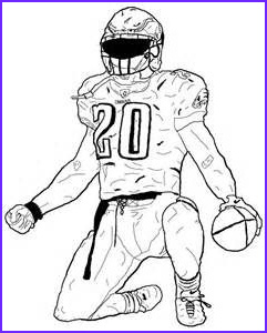 Football Player Coloring Pages Elegant Photos American Football Player Coloring Pages Sketch Template