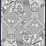 Fractal Coloring Pages Beautiful Image Fractal Coloring Pages 40 Image Collections Gianfreda