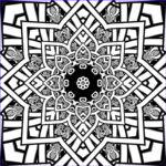 Fractal Coloring Pages Beautiful Images Fractal Coloring Pages Bestofcoloring