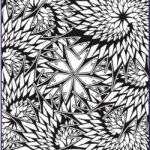 Fractal Coloring Pages New Image Creative Haven Insanely Intricate Phenomenal Fractals
