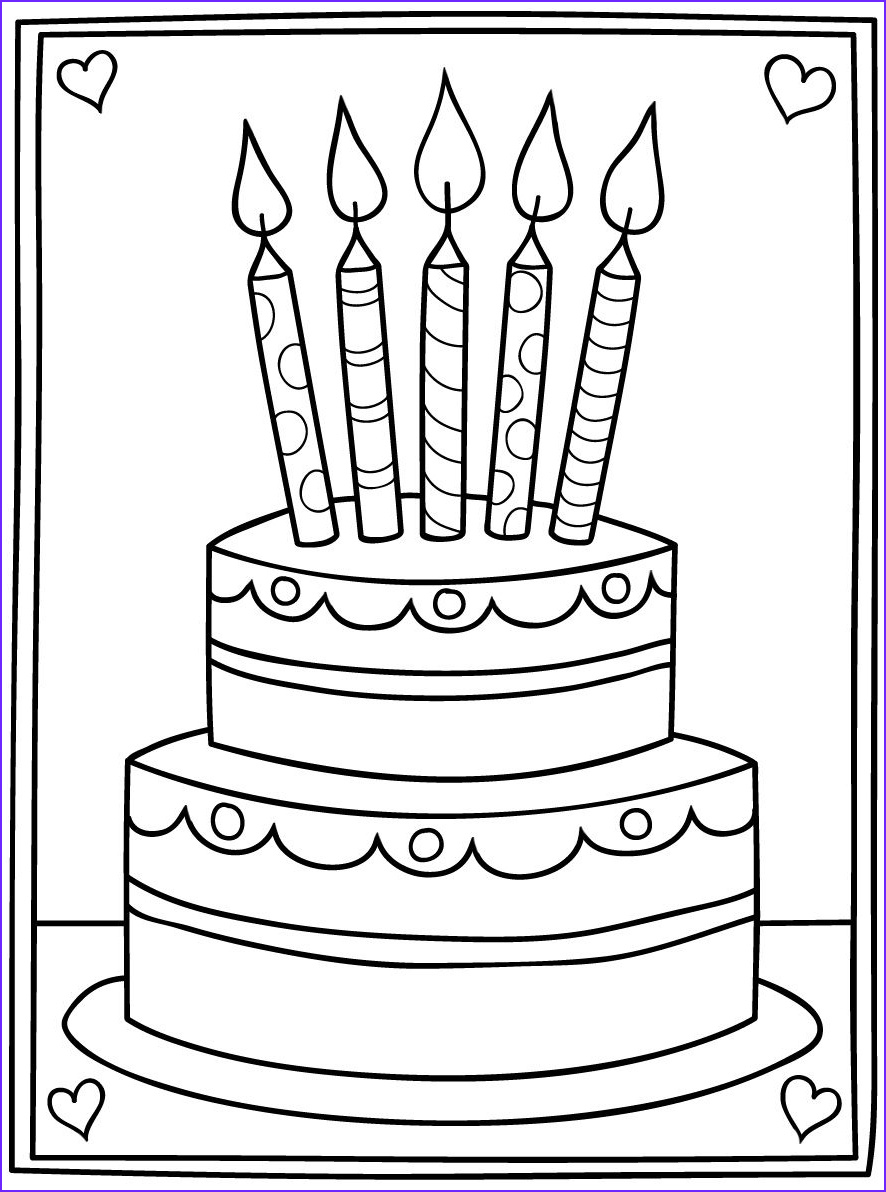 Free Printable Coloring Birthday Cards For Adults Elegant Images Free Digi Images For Cards Google Search