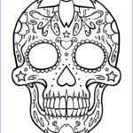 Free Printable Day Of The Dead Coloring Pages Awesome Image Free Printable Day Of The Dead Coloring Pages Best