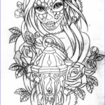 Free Printable Day Of The Dead Coloring Pages Beautiful Image Day Of The Dead Coloring Page