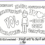 Fruit Of The Spirit Coloring Pages Beautiful Images The Fruit Of The Spirit Coloring Page Whats In The Bible