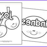 Fruit Of The Spirit Coloring Pages New Image Fruit Of The Spirit Printables Christian Preschool