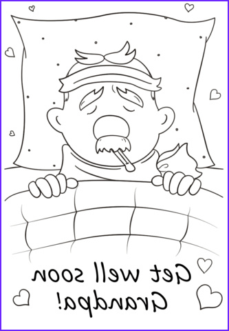 Get Well soon Coloring Pages Awesome Collection Get Well soon Grandpa Coloring Page