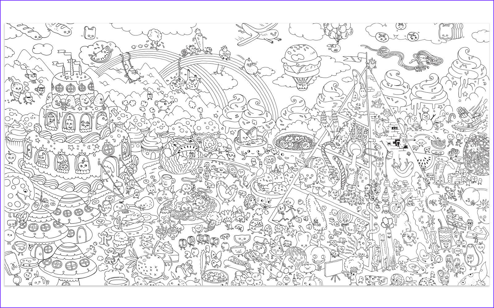 Giant Coloring Poster Beautiful Image 1000 Images About Babies & Kids Thing On Pinterest