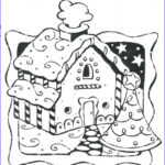 Gingerbread House Coloring Best Of Image Gingerbread House Coloring Page Coloring Home
