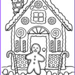 Gingerbread House Coloring Elegant Photography Gingerbread House Coloring Worksheet