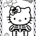 Halloween Coloring Pages Best Of Images Hello Kitty Halloween Coloring Pages