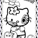 Halloween Coloring Pages Elegant Images Hello Kitty Halloween Coloring Pages