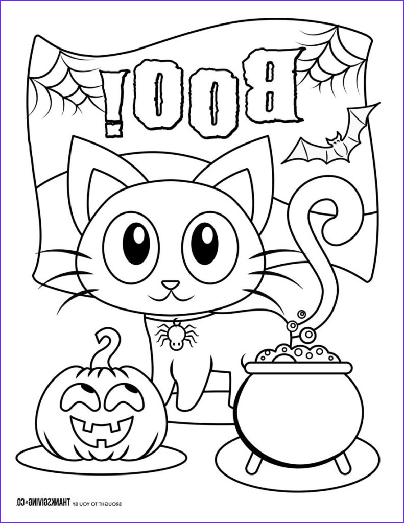 Halloween Coloring Pages Printable New Photography 117 Spooky Halloween Coloring Pages for All Age Groups