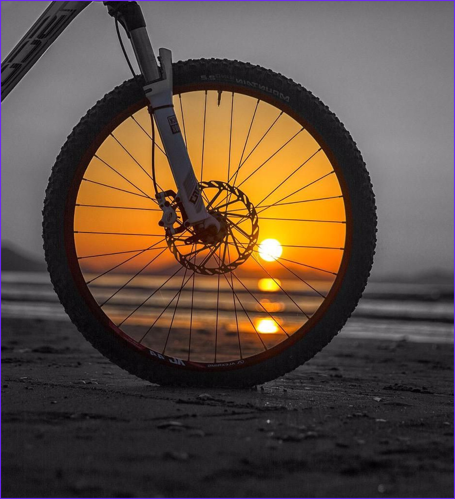 Hand Coloring Photographs Best Of Photos Hand Coloring 5 the Bike Wheel Creates A Frame for Part Of