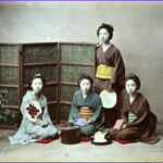 Hand Coloring Photographs Elegant Stock Hand Colored Graphs Of Old Japan