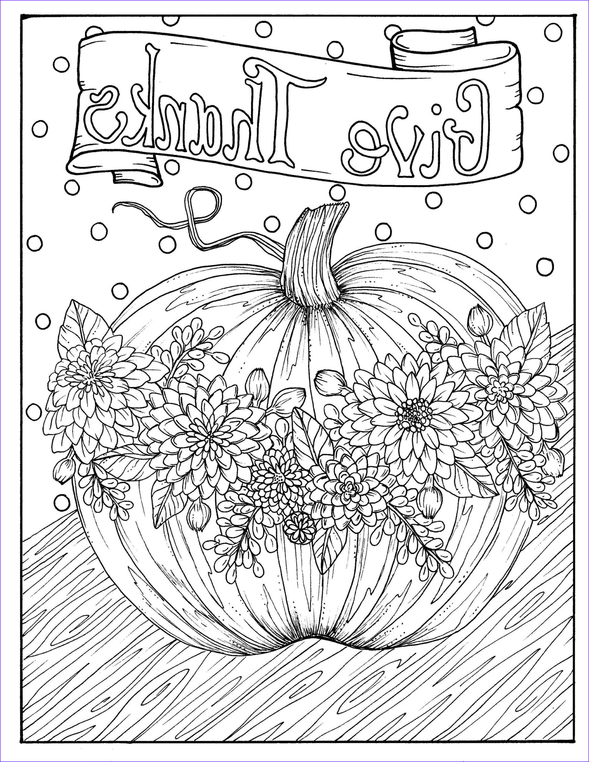 Harvest Coloring Pages Elegant Photos Give Thanks Digital Coloring Page Thanksgiving Harvest
