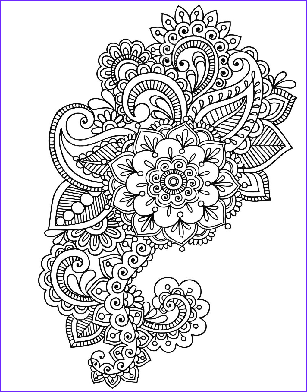 Henna Coloring Beautiful Gallery Pin by Sharon Shultz On Coloring Pages
