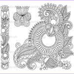 Henna Coloring Best Of Photos Paisley Coloring Pages For Adults