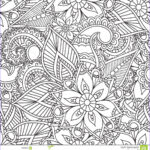Henna Coloring Cool Photos Coloring Pages For Adults Seamles Henna Mehndi Doodles