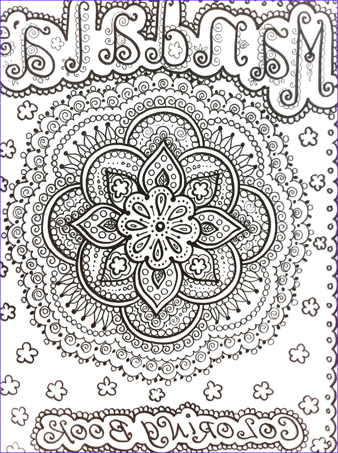Henna Coloring Elegant Collection Coloring Book Mandalas Henna Style Coloring Book by