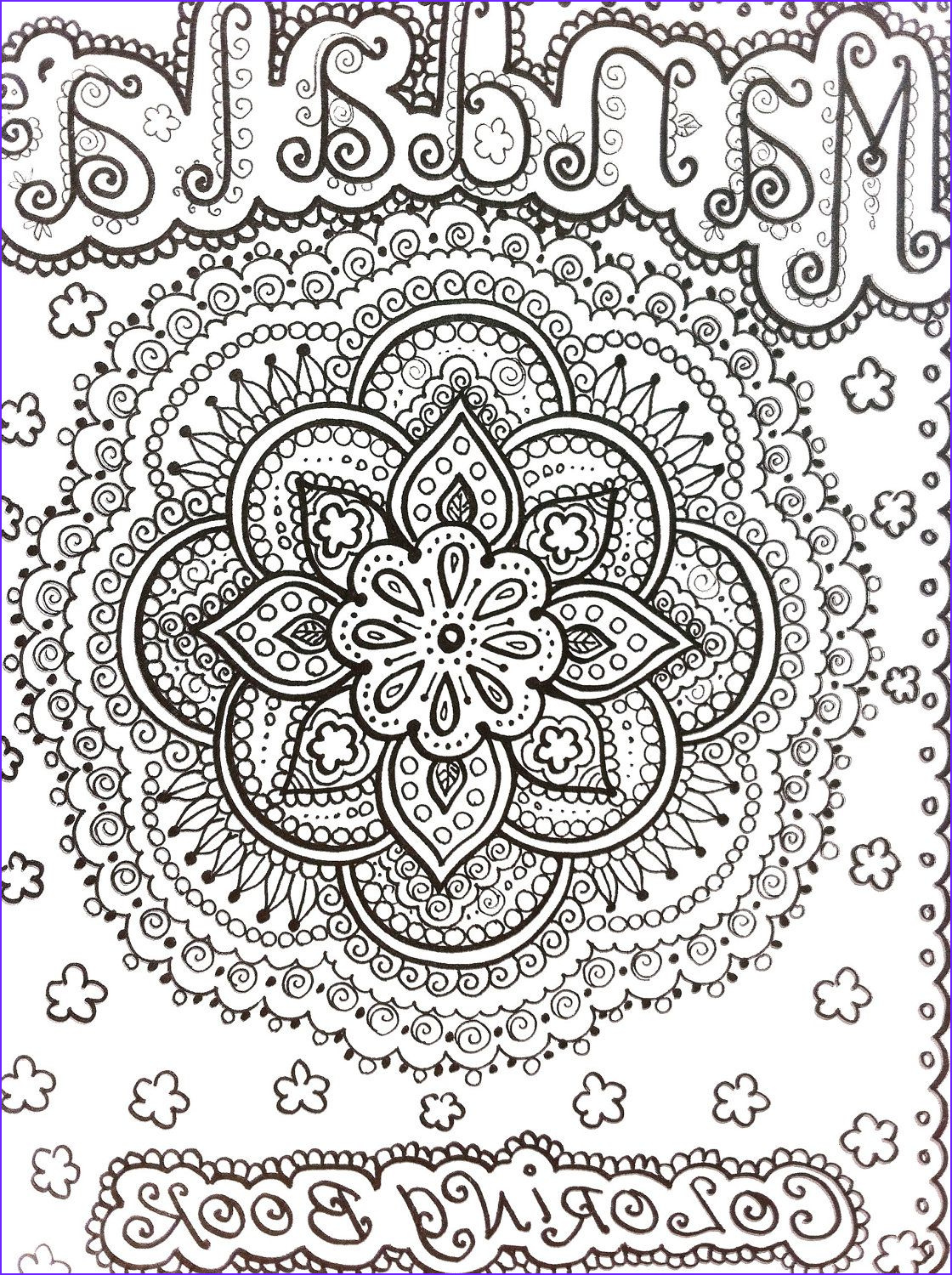 Henna Coloring New Photography Mendi Coloring Pages