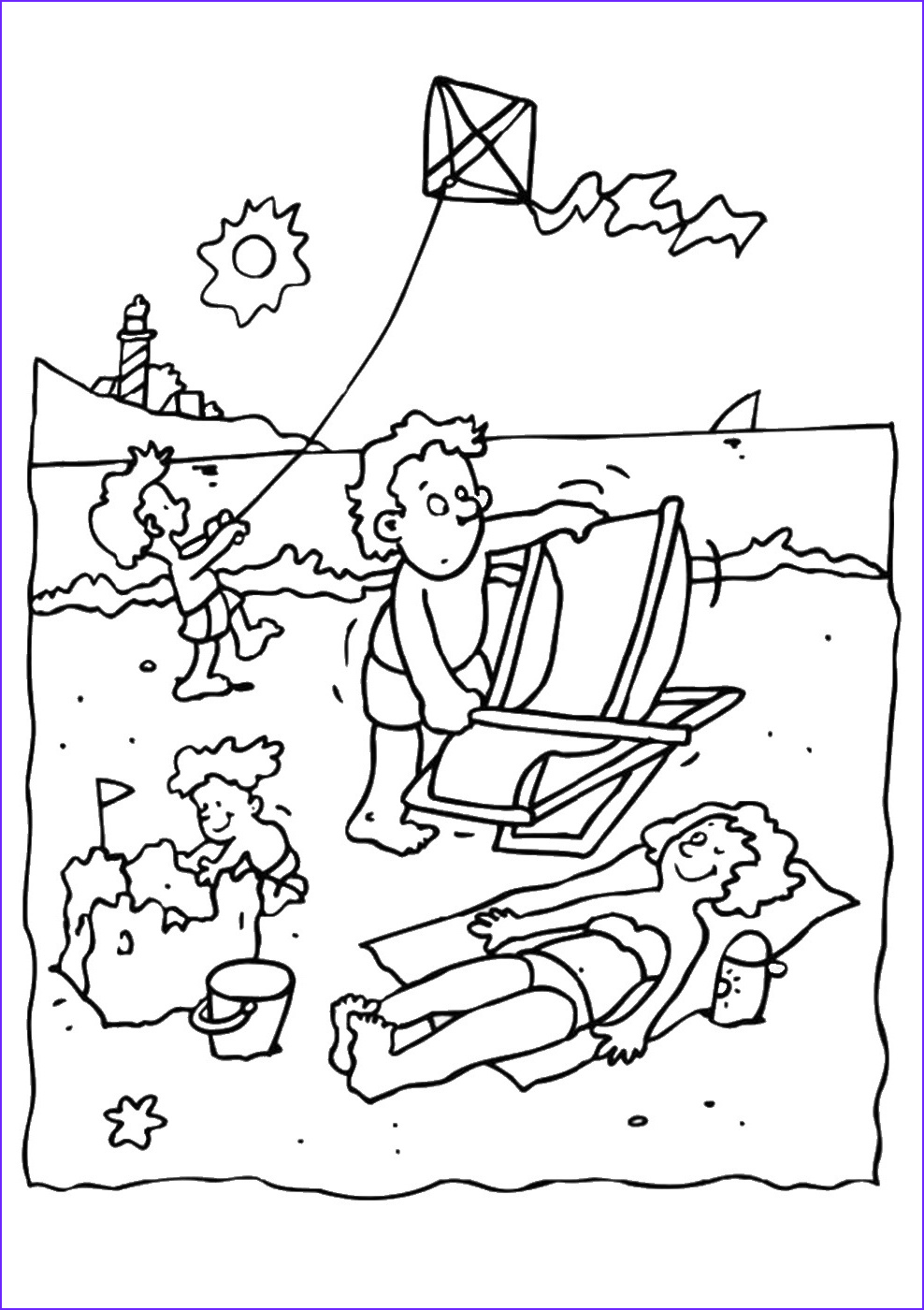 Holidays Coloring Book Elegant Images Summer Holiday Coloring Pages