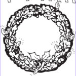 Holidays Coloring Book Inspirational Photos Happy Holidays Free Printable Christmas Wreath Coloring