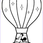Hot Air Balloon Coloring Page Best Of Images Printable Hot Air Balloon Coloring Pages For Kids