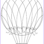 Hot Air Balloon Coloring Page Unique Photography Free Digital Stamps Awesome Collection Birdscards
