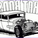 Hot Rod Coloring Inspirational Photos Old Cars Coloring Pages Coloring Home