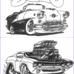 Hot Rod Coloring Luxury Collection Bill Copeland S Hot Rod Coloring Book Cruzin Magazine