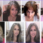 How To Go Gray After Coloring Cool Collection Going Gray Looking Great