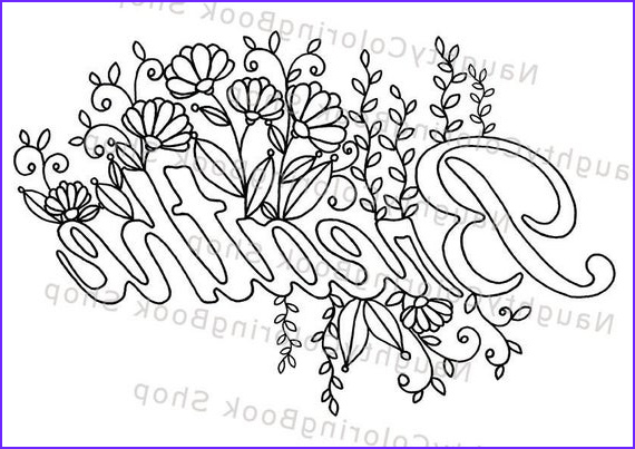 Inspirational Quote Coloring Pages Luxury Images Breathe Printable Gift Coloring Page Yoga Gifts Positive