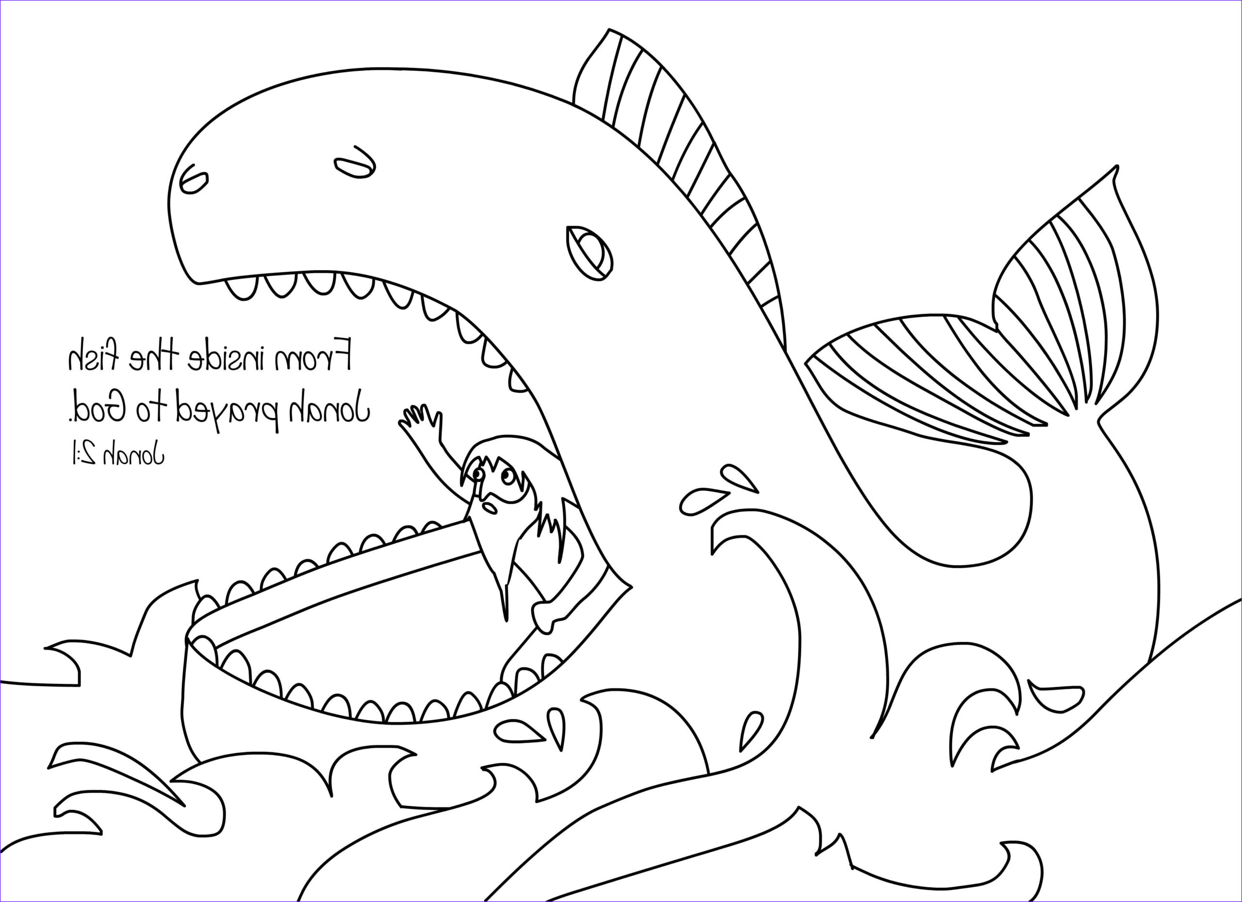 Jonah And The Whale Coloring Page Inspirational Photos Jonah Coloring Page Free Download