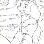 Lady And The Tramp Coloring Pages Unique Images Lady A Christmas T From Jim Dear To Darling Coloring