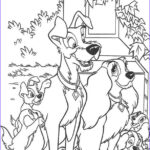 Lady And The Tramp Coloring Pages Unique Photography Lady Tramp And Puppies Coloring Pages Hellokids