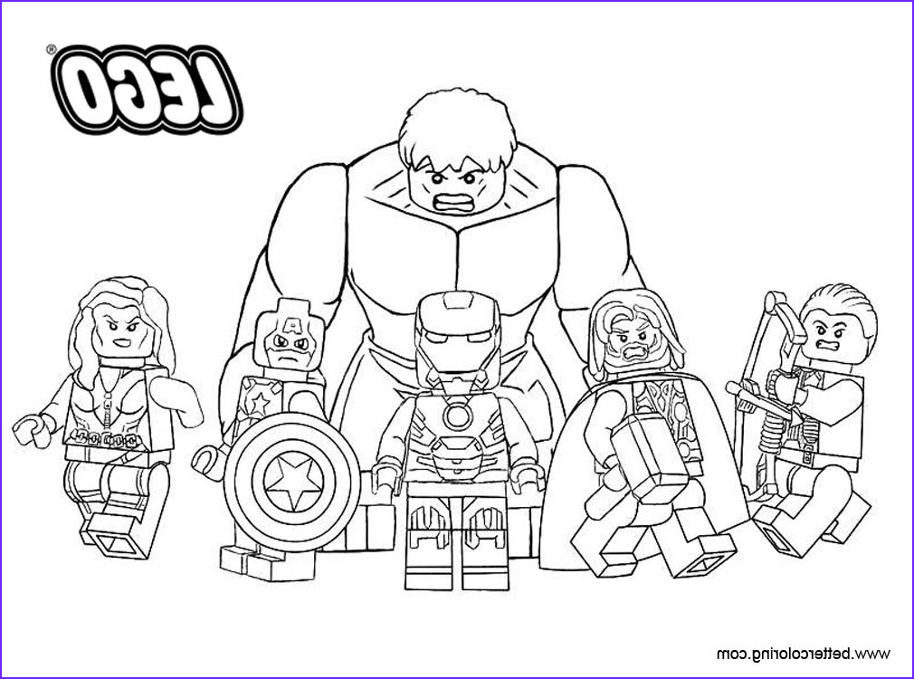 lego marvel superhero coloring pages