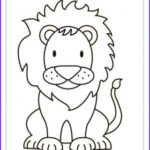 Lion Coloring Books Beautiful Photos African Animal Colouring Pages